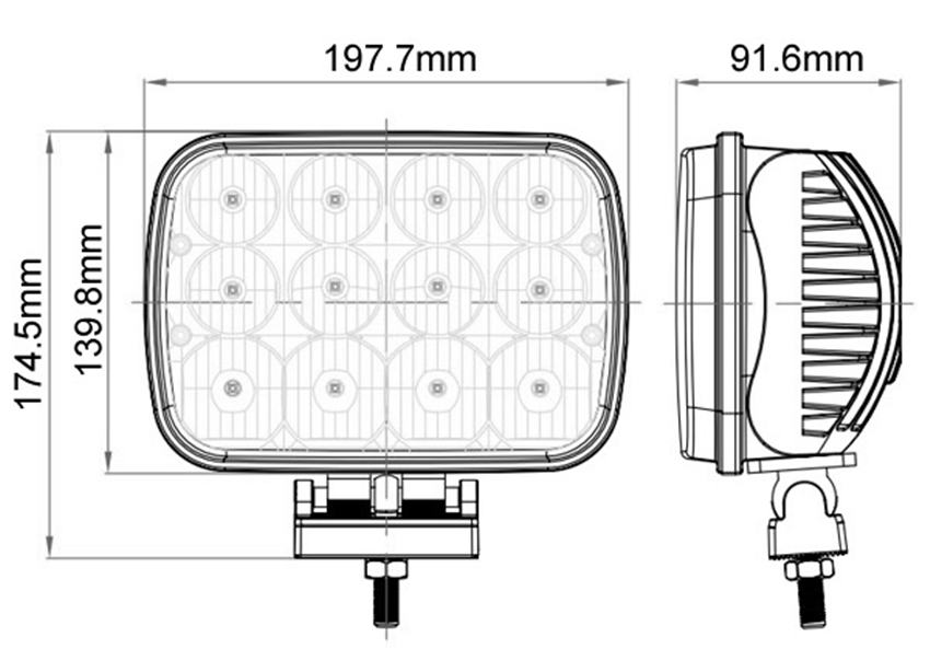 Find Led Driving Lights 4wd & Jc0512a-60w Newest Ip68