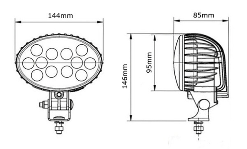 Find Manufacture About Jc0310-36w Heavy Duty Led Marine